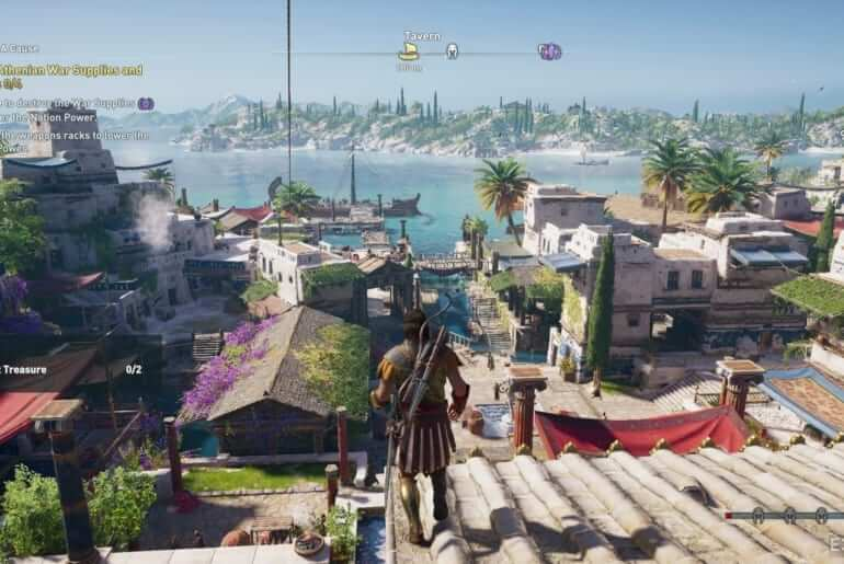 Assassin's Creed Odyssey Leaked Screenshot