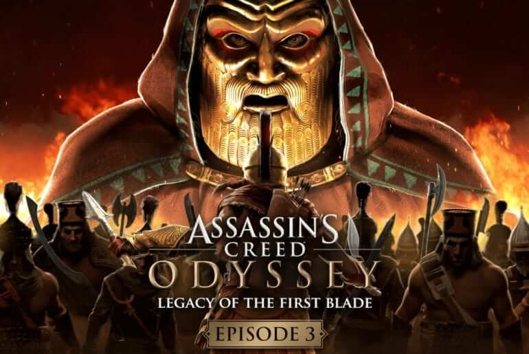 assassins creed odyssey legacy of the first blade bloodline1