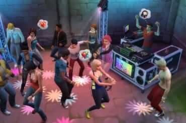 the sims 4 party