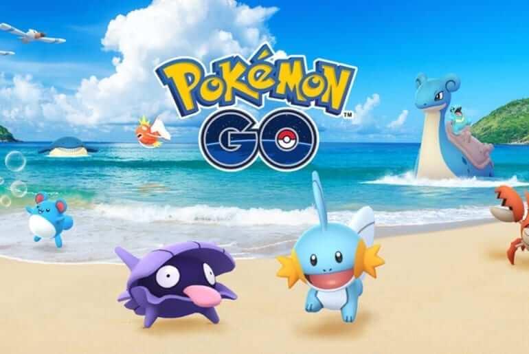 Pokémon Go Water Festival