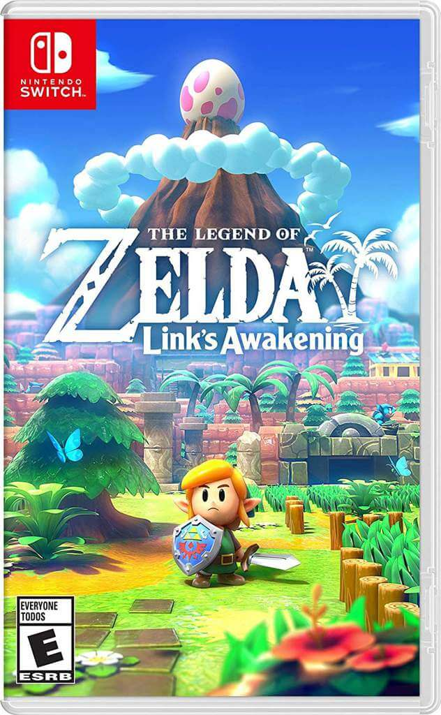 the legend of zelda link's awakening boxart