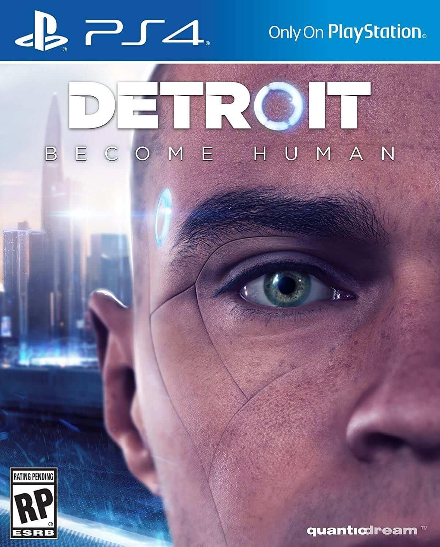 detroit become human boxart