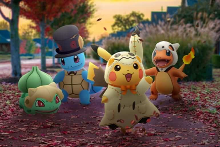 Pokémon Costumes Halloween 2019