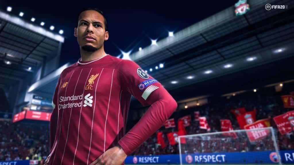 FIFA 20 Virgil Vandijk
