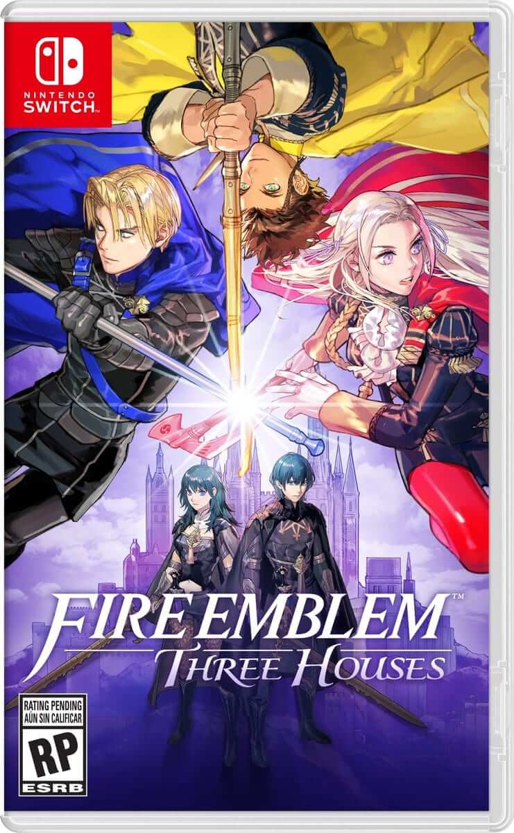 fire emblem three houses boxart