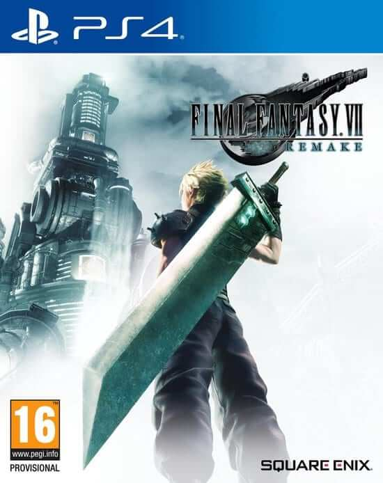 final fantasy vii remake ps4 boxart