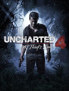 uncharted 4 boxart