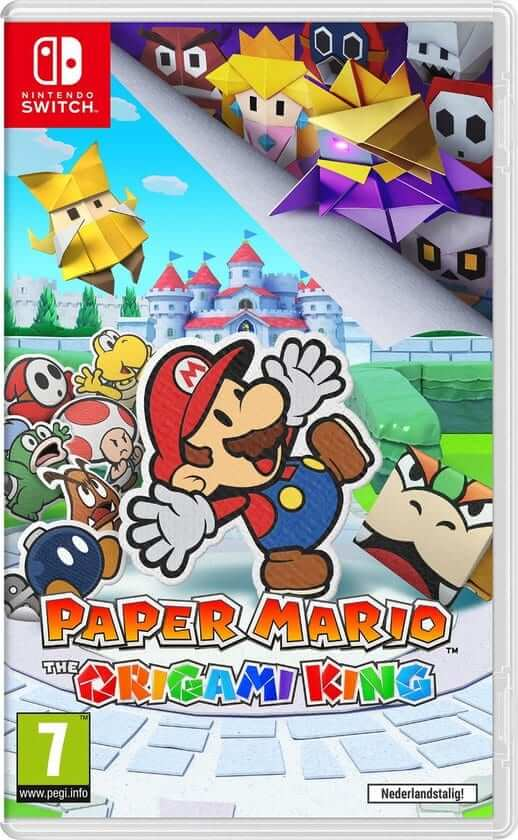 paper mario the origami king boxart