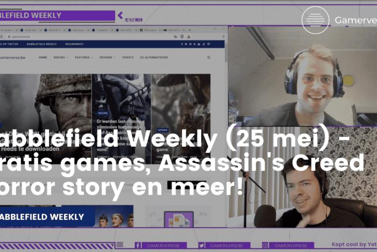 babblefield weekly 25 mei 2020