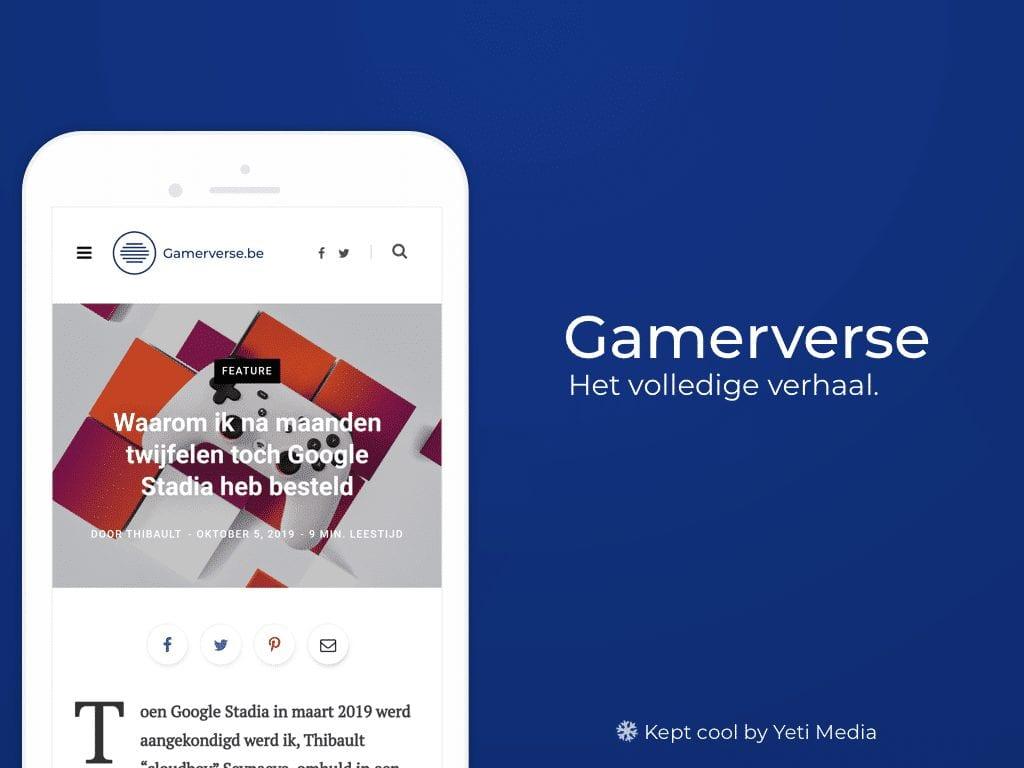 gamerverse mockup mobile
