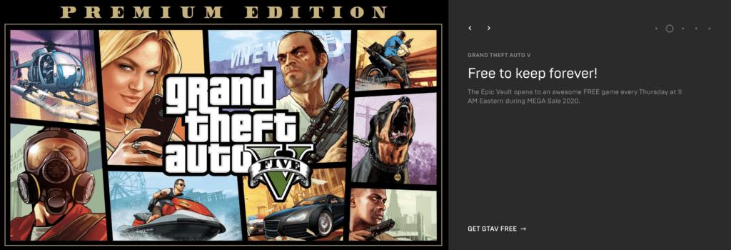 gta v epic games store premium edition