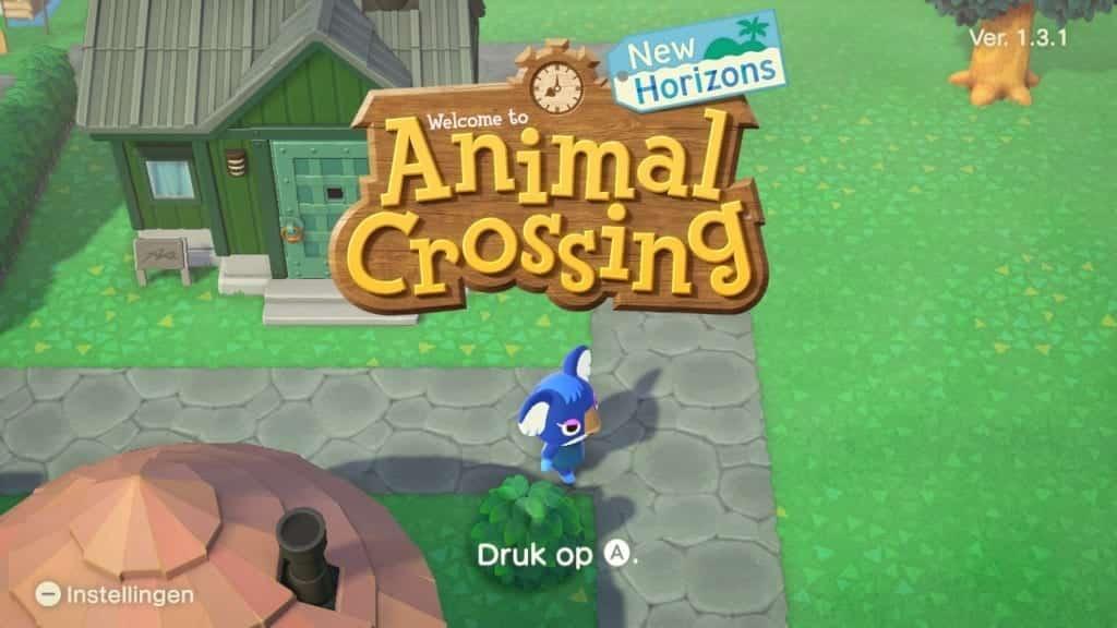 animal crossing new horizons instellingen
