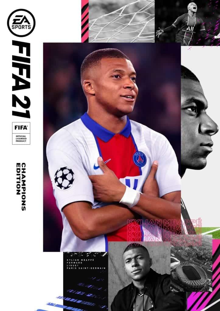 FIFA 21 Kylian Mbappé Champions Edition