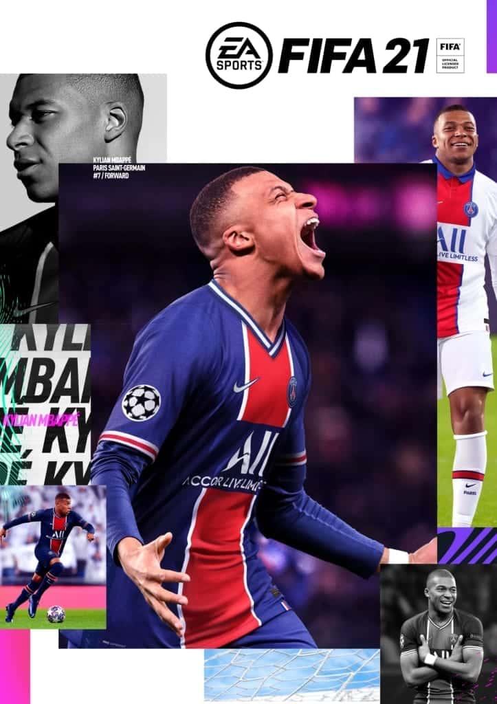 FIFA 21 Kylian Mbappé Standard Edition