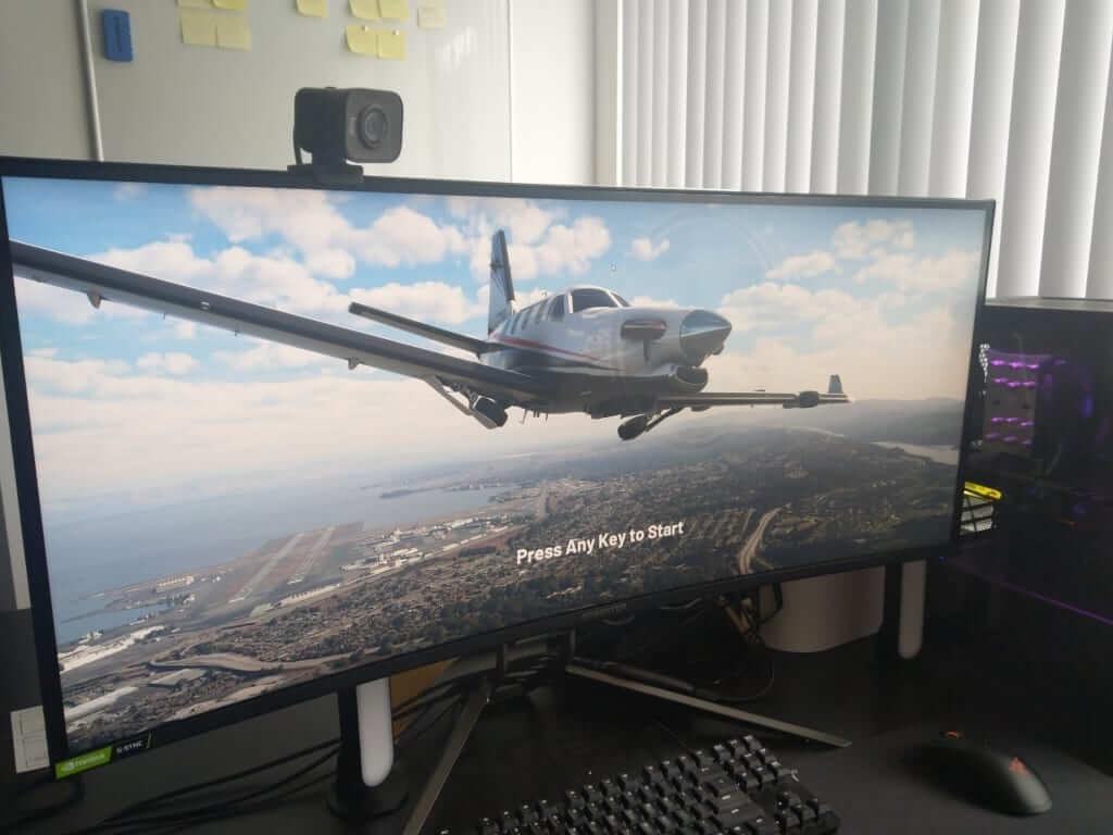 acer predator x38p microsoft flight simulator