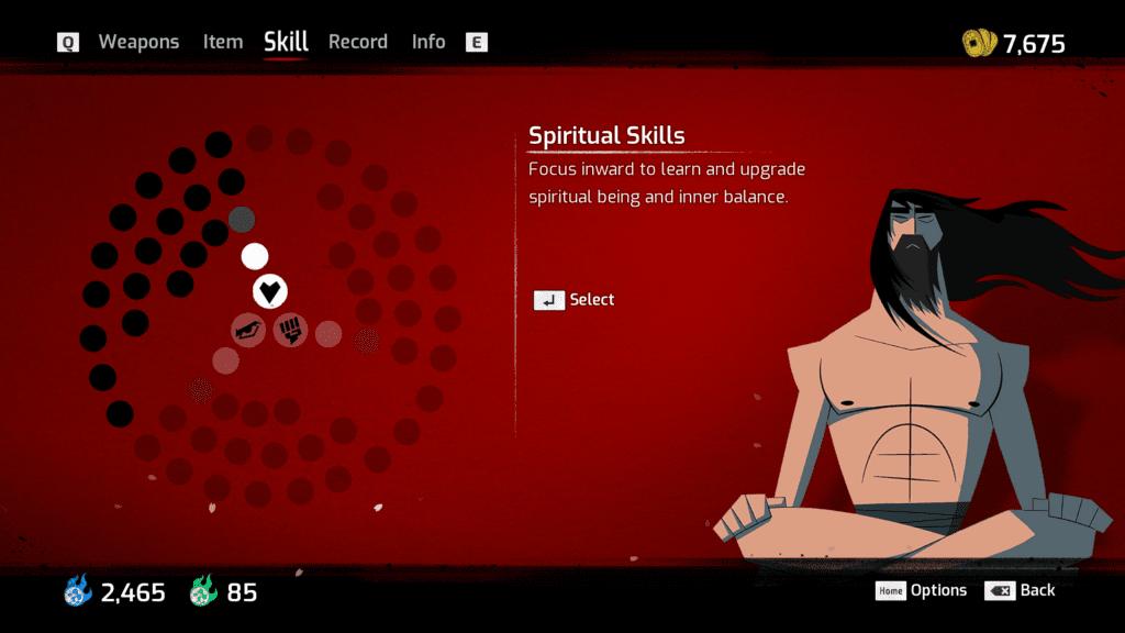 samurai jack battle through time skills