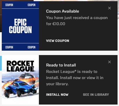 epic games store rocket league