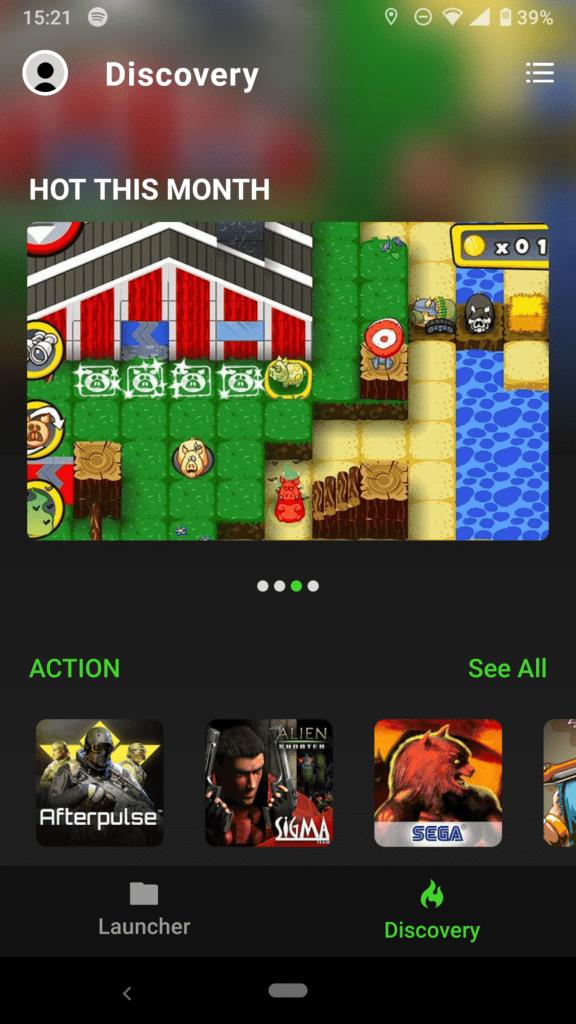 razer kishi android app