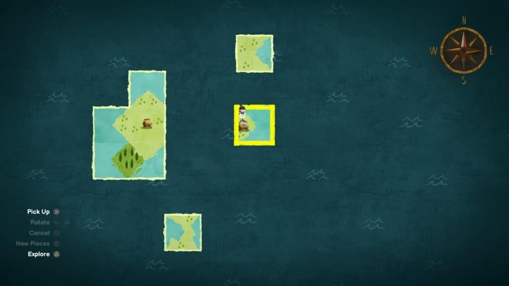 Carto map stukken pieces