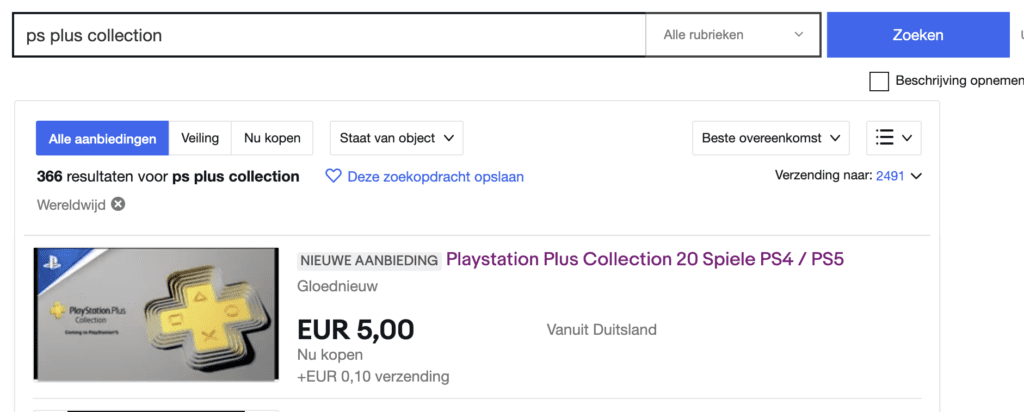 ps plus collection ebay