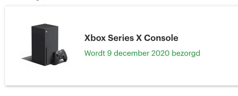 xbox series x bestelling bol.com