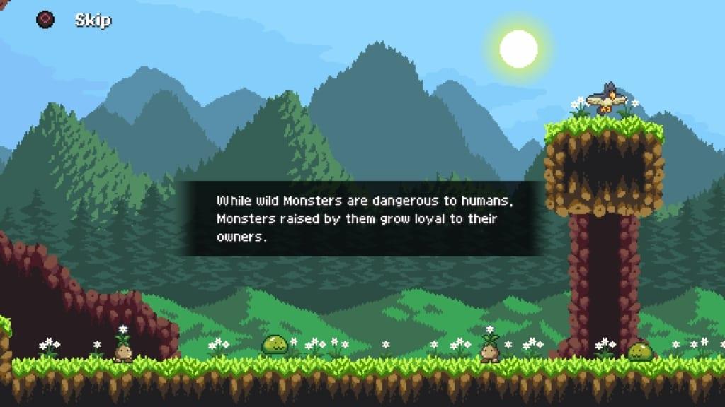 Monster Sanctuary Story