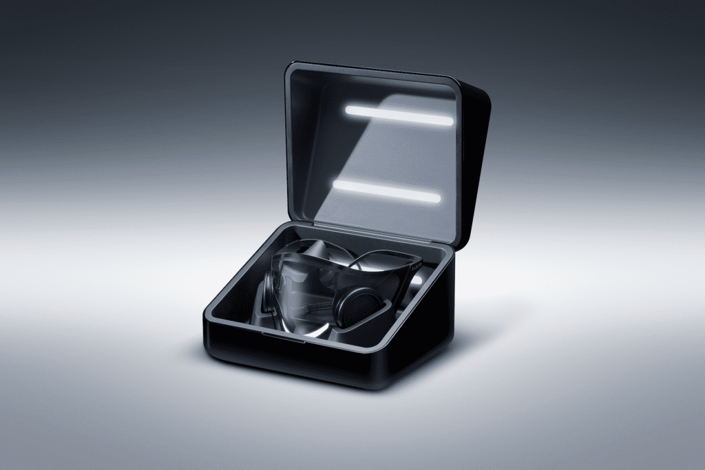 razer project hazel mask in box