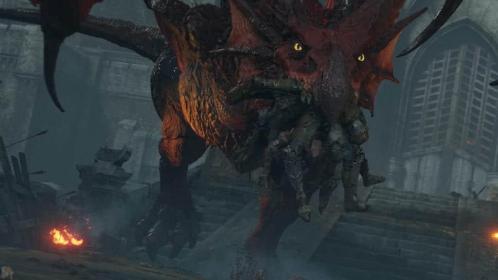 Dragon Demon's Souls