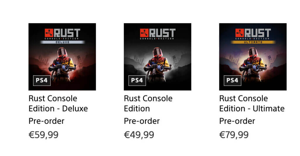 playstation store rust