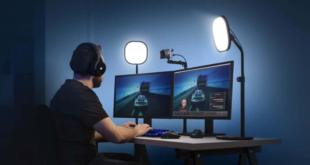 elgato key light air gebruiken bij de beste webcam voor livestreaming van games?