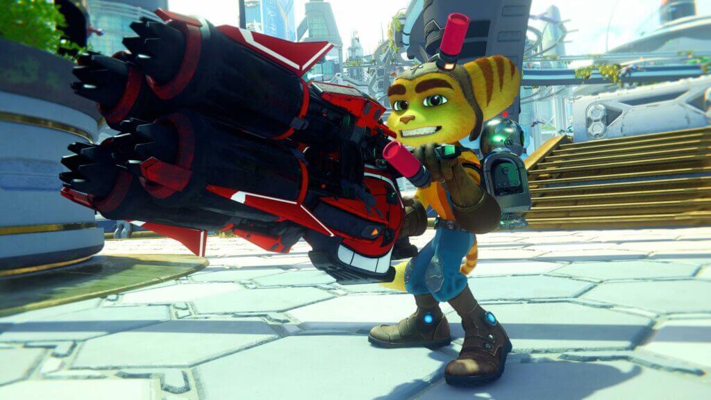 Ratchet Enforcer gun