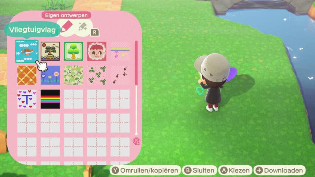 Aan de hand van eigen ontwerpen geef je jouw Animal Crossing New Horizons eiland een unieke twist