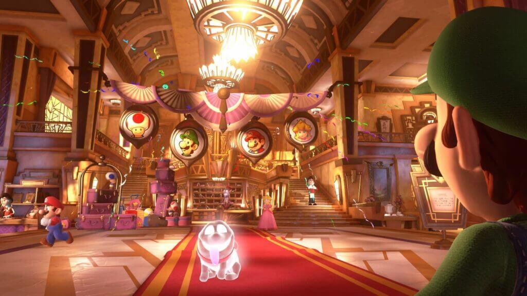 Polterpop uit Luigi's Mansion als een van onze favoriete honden in games
