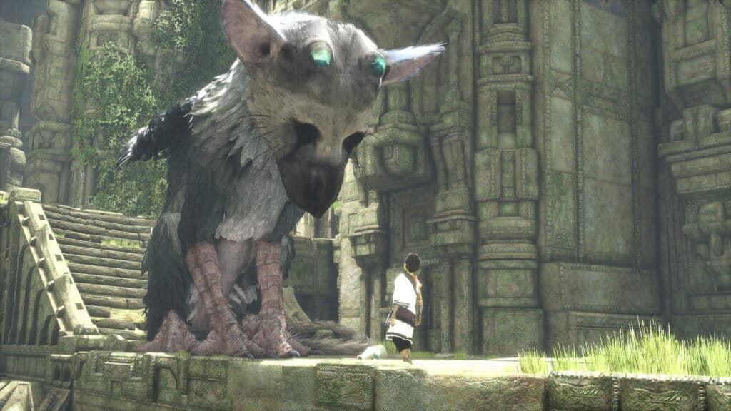 Trico uit The Last Guardian is een van onze favoriete honden in games